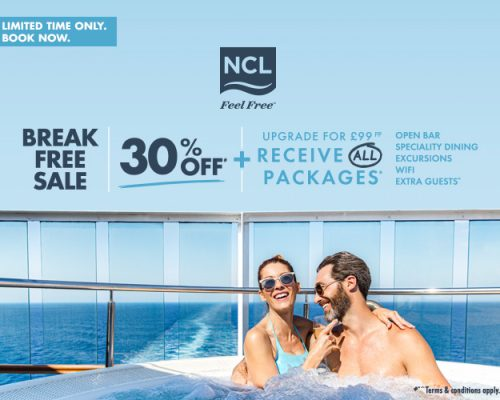 NCL Break Free Sale