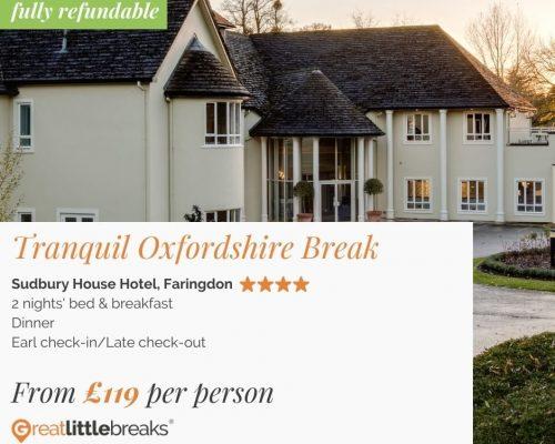 2 Night 4* Oxfordshire Break