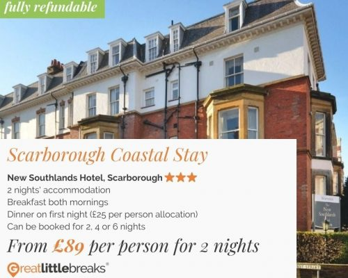 2 Night Scarborough Coastal Stay