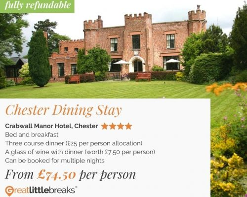 Chester 1 Night Dining Stay