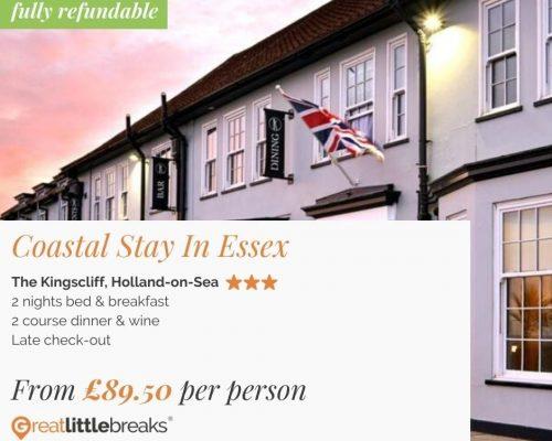 2 Night Essex Coastal Stay