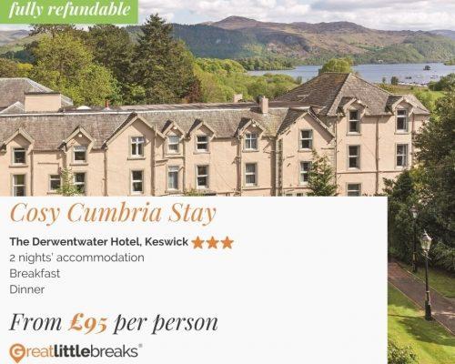 Cosy Cumbria 2 Night Stay