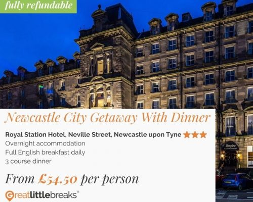 Newcastle City Getaway With Dinner