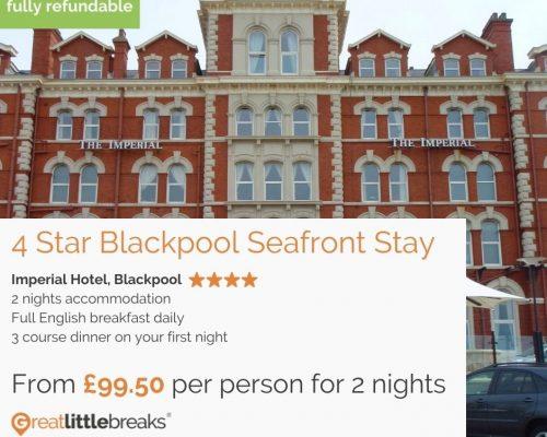 2 Night Blackpool Stay