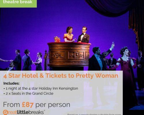 Pretty Woman – London Theatre Break