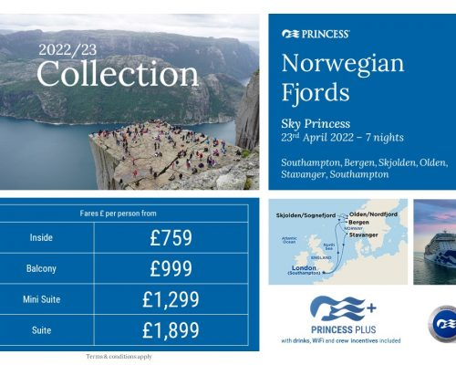 Princess Cruises 2022-2023 Collection