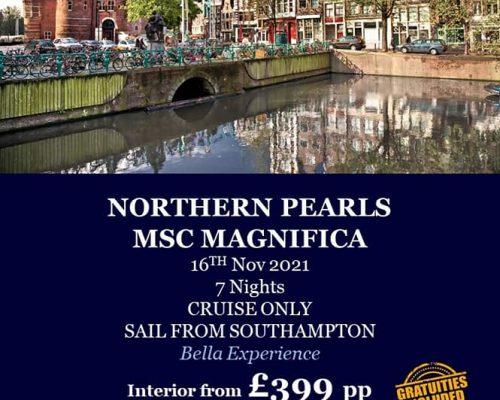 MSC Winter Cruises From Southampton